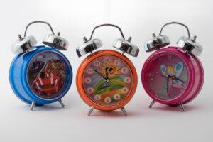 Kids alarm clock range