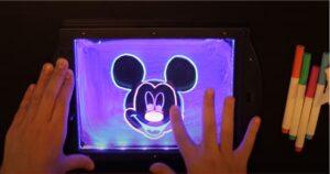 GlowArt LED Drawing Board for Kids